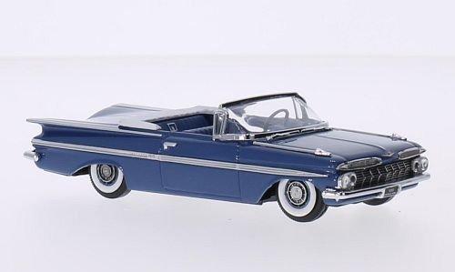 chevrolet-impala-convertible-metallic-blau-1959-modellauto-fertigmodell-vitesse-143