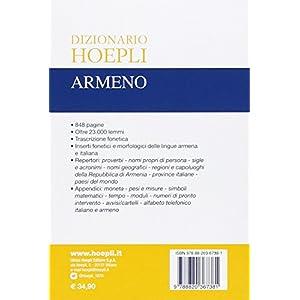 Dizionario Hoepli armeno. Armeno-italiano, italian