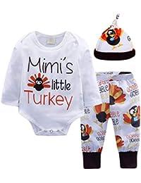 Xinwcanga Kinderanzug 3pcs Säugling Baby Junge Mädchen Brief Drucken Tops + Freizeit Sport Hosen + Hut Outfits Set Kleider