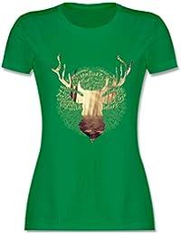 5c4d980754cc Suchergebnis auf Amazon.de für  grüner hirsch - Tops, T-Shirts ...