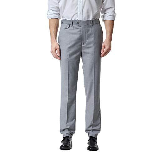 Pantalones Casuales de Hombre,ZARLLE Hombre Pantalones de Algodón Slim Fit, Pantalón Chino...