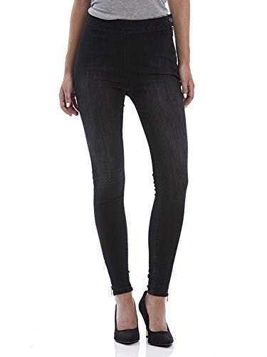 Bench Damen Cylinder V1 Jeans, Dark Worn/Black M0770, 30