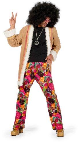 Wilbers-Costume di Carnevale per Hippy Cappotto