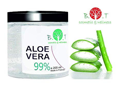 99% Gel Puro Aloe Vera 200 ml Regenerador 100% natural