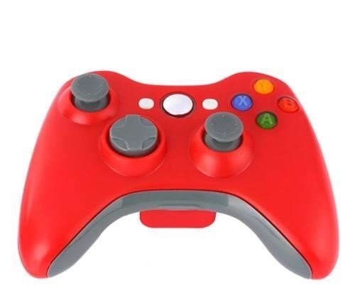 CamKing Spiel Wireless Controller Xbox 360 Wireless Bluetooth Controller Drahtlose Entfernten Pad-Game-Controller für Microsoft Xbox 360 PC/Windows 7 XP Whit Joypad (Rot) (SWCR-7) (Microsoft Game Pad Für Pc)