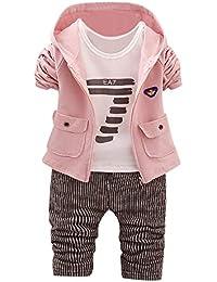 4dee015f7e9a1 Oyedens Vêtements Bébé Enfant Hiver Automne 3pcs Ensemble Vêtement Bébé  Fille Nouveau-né Bébé Garçon