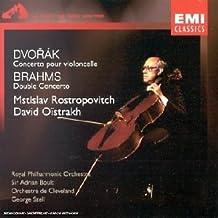 Dvorak : Concerto pour violoncelle - Brahms : Double concerto