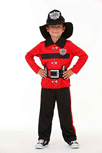 Glooke selected pompiere rosso costume s,, 374109