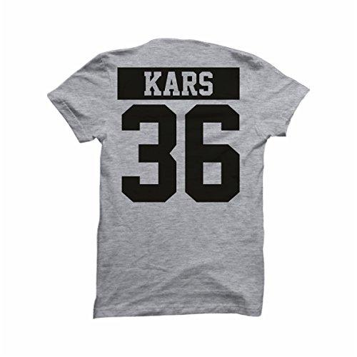 Türkei Türkiye T-Shirt Shirt grau Wunschdruck (S, 36 Kars) - Kars Türkei
