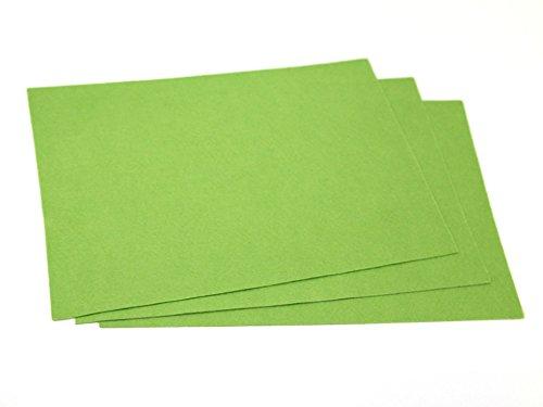 Minerva Feutrine Acrylique Uni A4 Rectangle Vert Printemps – par Feuille