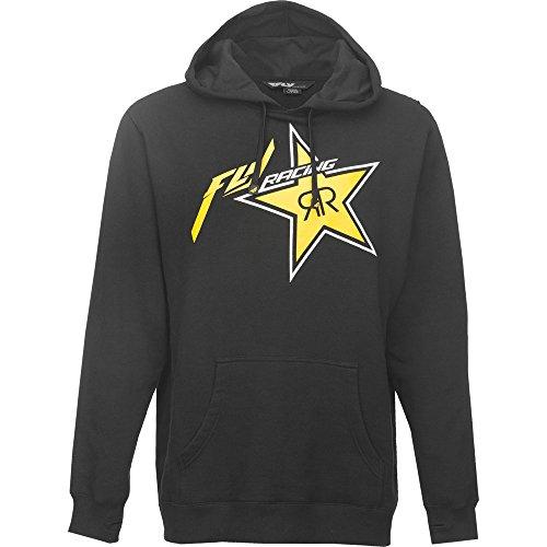 fly-racing-kapuzenpulli-rockstar-sw-gelb-gre-l-hoodie