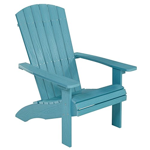 NEG Design Adirondack Stuhl Marcy (türkis-blau) Westport-Chair/Sessel aus Polywood-Kunststoff...