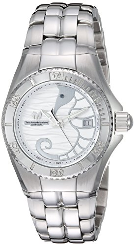 Technomarine Women's 'Cruise' Quartz Stainless Steel Casual Watch, Color:Silver-Toned (Model: TM-115283)