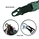 Oleader 1 Point Gun Sling Multi-Use Rifle Strap Adjustable Shoulder Rope with Elastic Cord for Hunting Camping Outdoor Sports