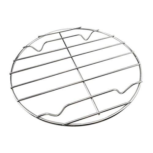 petsola BBQ Grates Ersatz Barbecue Grill Edelstahl Für Outdoor Camping, 20 28 cm - 22 cm