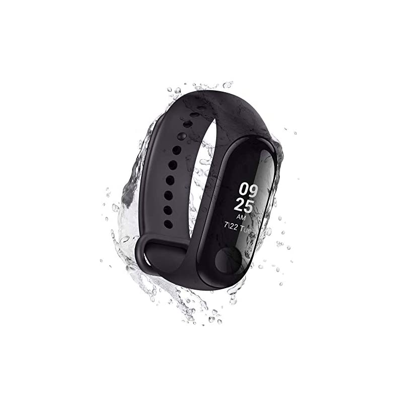 Xiaomi Mi Band 3 Bluetooth Activity Tracker, Waterproof Fitness Watch with Heart Rate Monitor, Pedometer & Messaging…