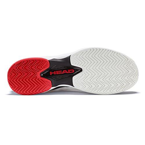 HEAD Unisex-Erwachsene Sprint Pro Tennisschuhe Weiß (White/black)