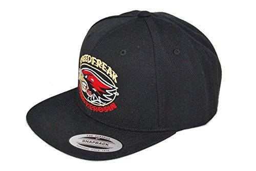 King Kerosin Speedfreak The Classics Original Snapback Baseball Caps/2-Tone Cap (Schwarz)