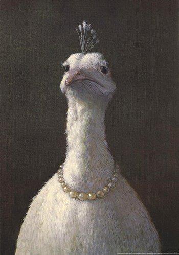 lügel mit Perlen Kunstdruck (41,91 x 59,69 cm) (Michaels Perlen)