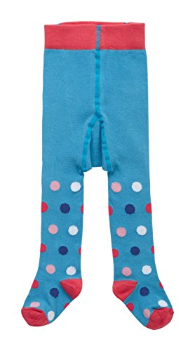 Piccalilly Blue Polka Dot Tights 0-12 months