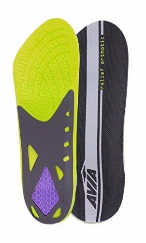 avia-heel-relief-plantar-fasciitis-orthotic-insole-level-3-womens-size-6-10-by-avia