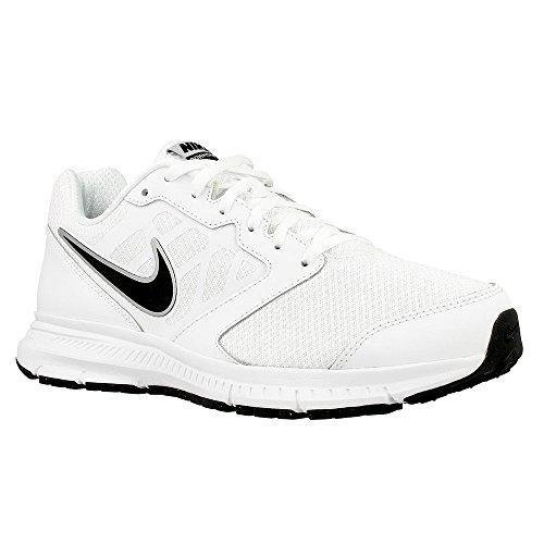 Nike - Downshifter 6 - 684652100 - Colore: Bianco-Nero - Taglia: 45.0