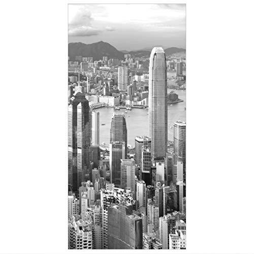 Bilderwelten Raumteiler Skyline Nostalgia 250x120cm inkl. transparenter Halterung