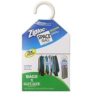 Space Bag Vacuum Seal Storage Bag Pack - As Seen On TV-1CT SUIT SPACE BAG