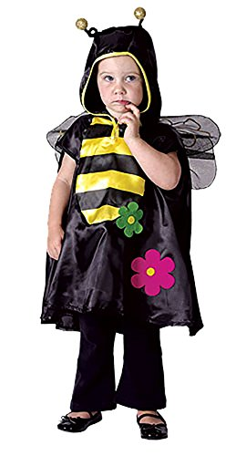 Islander Fashions M�dchen Busy Bee Kleinkind Kost�m Kinder Bugs Fancy Dress Book Woche komplette Outfit unter 4 - Busy Bee Kostüm