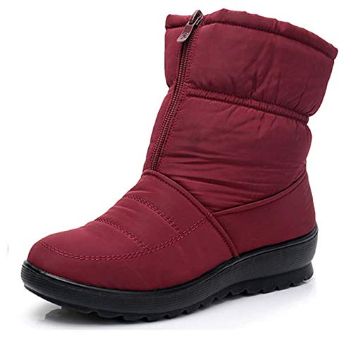 e35547c1da795f Cute Cat Warm Boots Women Family Christmas Cotton Winter Shoes Women Boot