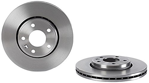 Brembo 09.8937.10 Front Brake Disc - Set of 2