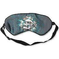 Eye Mask Eyeshade Skull Artwork Sleeping Mask Blindfold Eyepatch Adjustable Head Strap preisvergleich bei billige-tabletten.eu