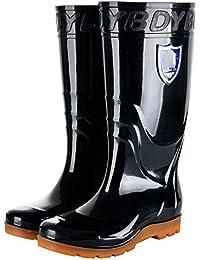 Amazon.it: Stivali da Pioggia Uomo Stivali Scarpe da
