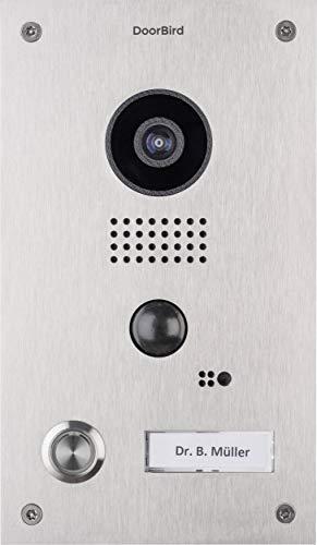 Bird Home Automatisierung, Gruppe D202DoorBird Video Türstation und Intercom–Edelstahl