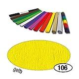 Krepp-Papier 10er Pack 50x250 cm, Gelb [Bürobedarf & Schreibwaren]