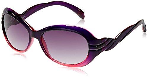 Fastrack P196PK2F Oval Men Sunglasses (Purple, Free Size)