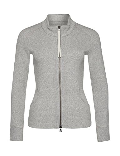 Marc Cain Essentials Damen Strickjacke +E3147J50 Grau (grey 820)
