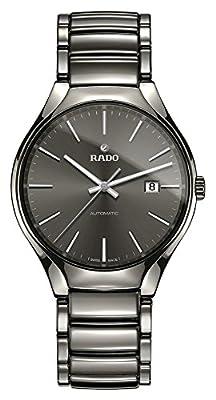 Rado True R27057102 40.1mm Automatic Ceramic Case Ceramic Anti-Reflective Sapphire Men's Watch