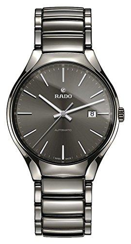 Rado Homme 40mm Bracelet Acier Inoxydable Gris Automatique Montre R27057102
