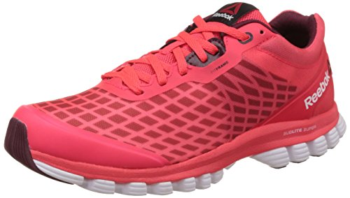 Reebok Women's Sublite Super Duo Red,Black And White Running Shoes – 4 UK 41KRWJ6ZldL