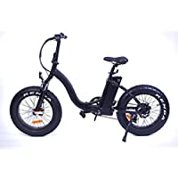 Vélo Electrique Pliable Yadea France Black Fat Bike