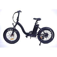 Bicicleta eléctrica plegable Yadea France Black Fat Bike