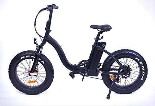 Vélo Electrique Pliable Yadea France Black Fat Bike