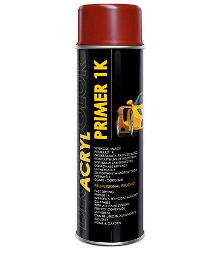 Preisvergleich Produktbild DC Acryl-Lackspray / Acryl-Grundierung 500ml freie Farbauswahl (grundierung rot)