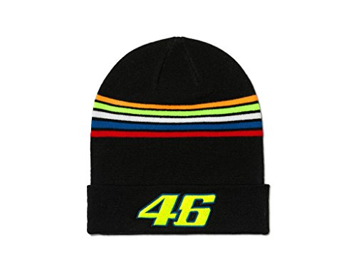 Mütze VR46 Stripes Beanie VR|46 Valentino Rossi The Doctor Official Racing Merch
