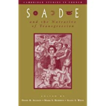 Sade & Narratives of Transgression (Cambridge Studies in French, Band 52)