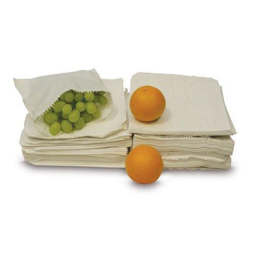 Preisvergleich Produktbild Sulphite White Paper Bags - 8.5 x 8.5 - (= 1000 bags) by Paper Bags