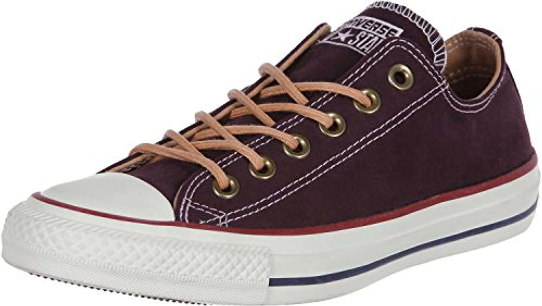 Converse All Star OX Herren Sneaker Dunkel Rot