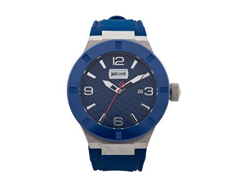 Just Cavalli Reloj Analogico para Hombre de Cuarzo con Correa en Caucho JC1G017P0025