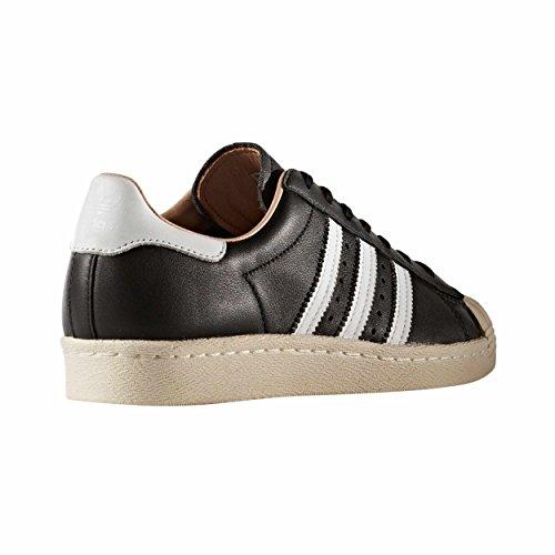 "Adidas Zapatillas SUPERSTAR 80"" Uomo Blanca/Negra zake BY2957 Black"